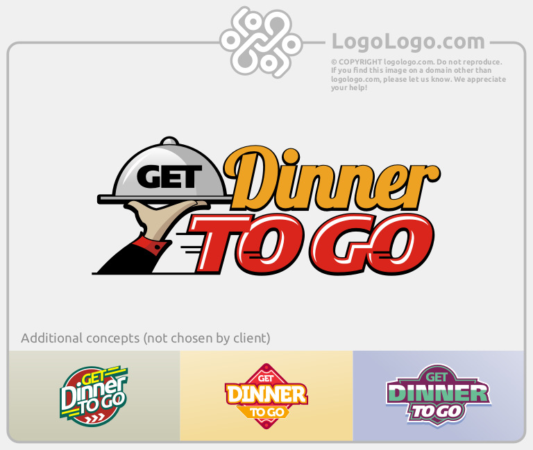 Custom Food Logo
