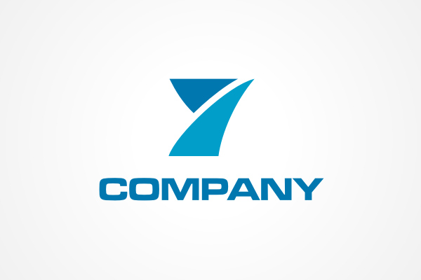 Y Logo Free Logo: Blue Y Logo
