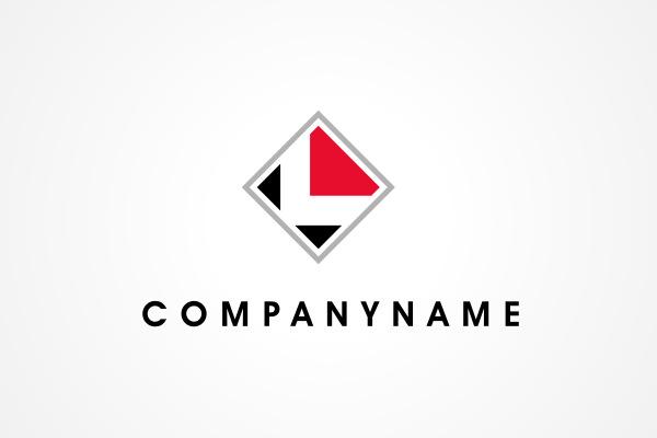 3 red diamond shaped logo