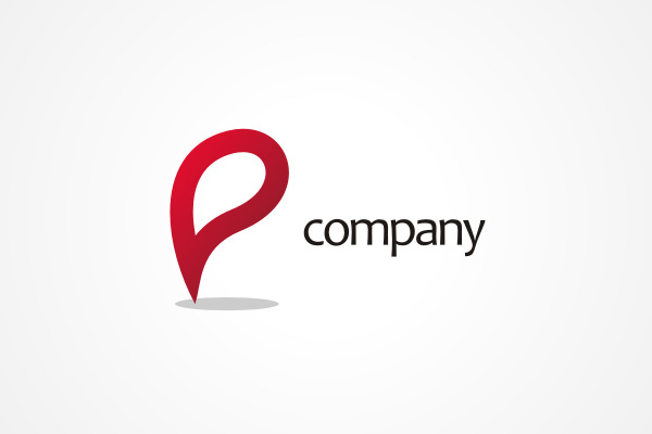Free Logo Red P