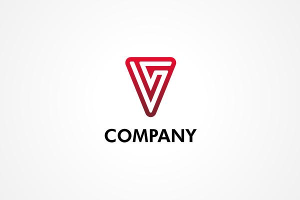 Free Logo: Red V Logo