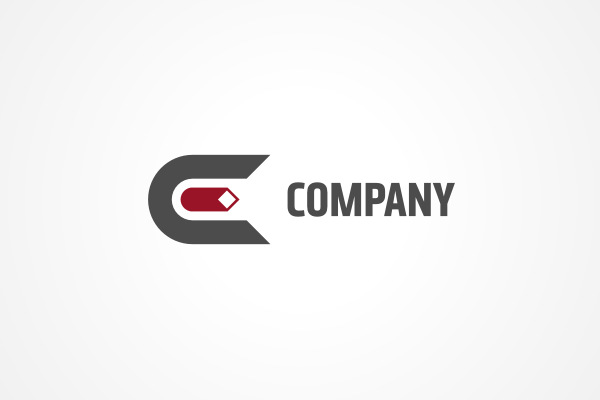 Simple Letter E Logo  E! Logo